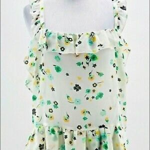 NWT Who What Wear floral peplum blouse